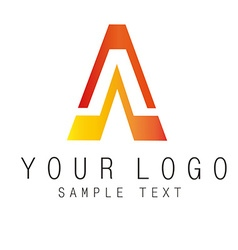 Sign logo vector image vector image