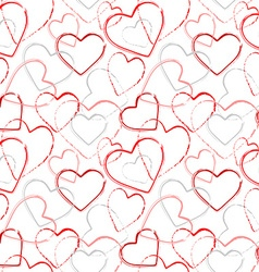Color grunge romance seamless pattern vector