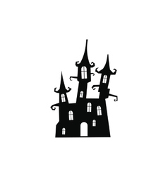 Dream castle icon vector image vector image