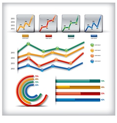 info graphics vector image