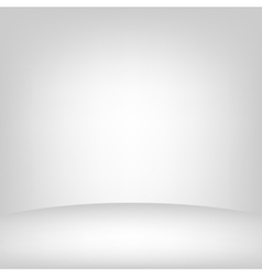 Light studio room vector image