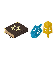 Muslim tradition islam source jew bible book vector