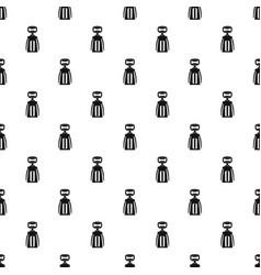 modern corkscrew pattern vector image