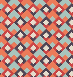 Abstract seamless geometric retro background vector image vector image