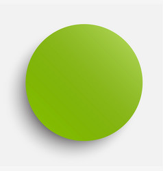 Circle banner greenery around card vector