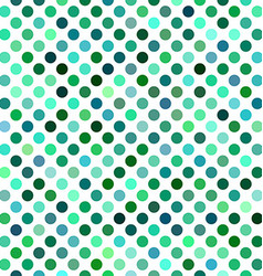 Green abstract polkadot pattern background design vector