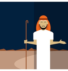 Muslim icon vector
