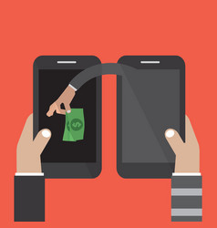 Mobile banking money stealing vector