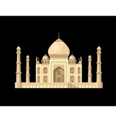 Most famous world landmark vector