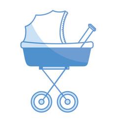 Baby car small vector