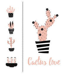 Cactus love vector