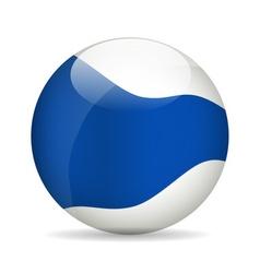 Modern ball vector image