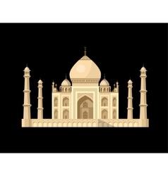 Most famous world landmark vector