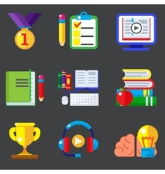 Study and education vector image vector image