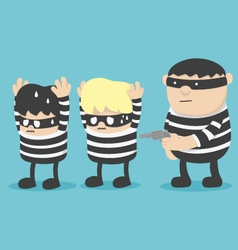 Thief robber Thief vector image