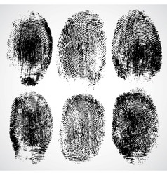 Set of fingerprints vector