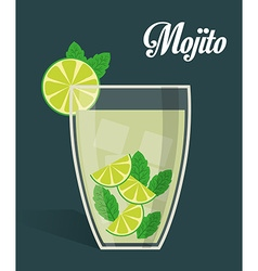 Drinks digital design vector