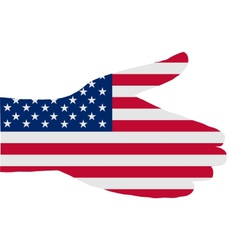 American handshake vector