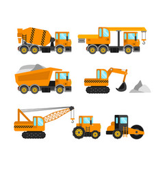 Construction machine set vector