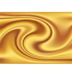 Abstract texture golden silk vector