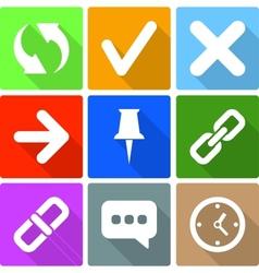 Web Icons Set 2 vector image