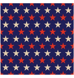 Seamless patriotic red blue textured background vector