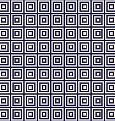 golden square on a blue background endless pattern vector image