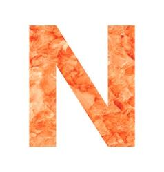 N land letter vector