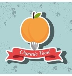 Organic products farm fresh vector
