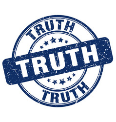 Truth stamp vector
