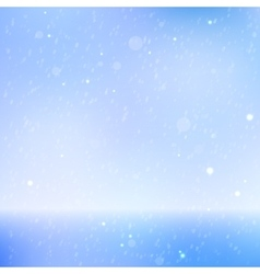 Abstract beautiful sea and sky background vector image vector image