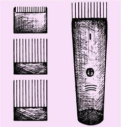 Hair clipper vector