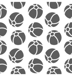 Seamless pattern for boy sports balls on vector