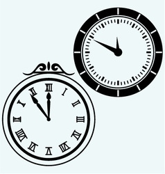 Set symbol clock vector image vector image