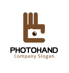 Photo hand design vector
