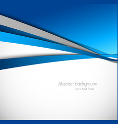 Abstract background in blue color vector image vector image