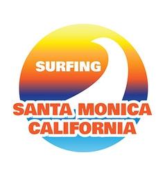 California typography sport t-shirt graphics vector