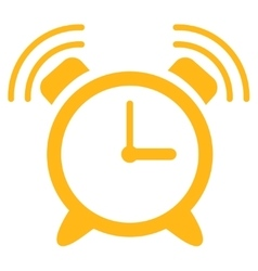 Alarm clock ring icon vector