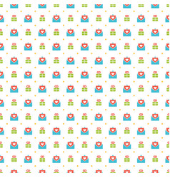Happy birthday seamless pattern design for vector