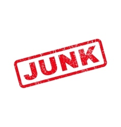 Junk text rubber stamp vector