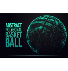 Abstract basket ball vector