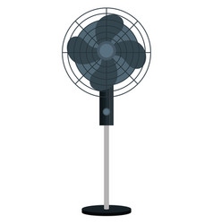 Home appliance fan isolated icon vector