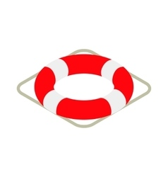 Lifebuoy icon isometric 3d style vector image