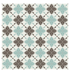 seamless pattern vintage floral background illus vector image vector image