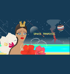 Space tropical vector