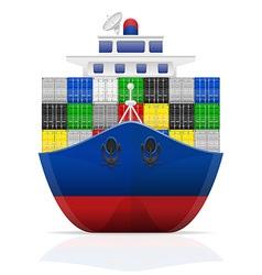 Cargo ship 03 vector