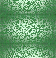Green circle pixel mosaic background vector