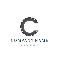 C gear logo vector