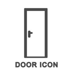 Door Icon vector image vector image