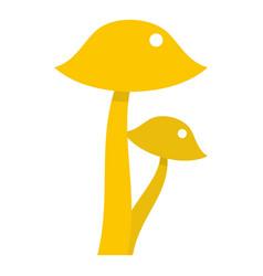 honey fungus icon isolated vector image